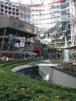 компоненты природы в Sony Center, Берлин
